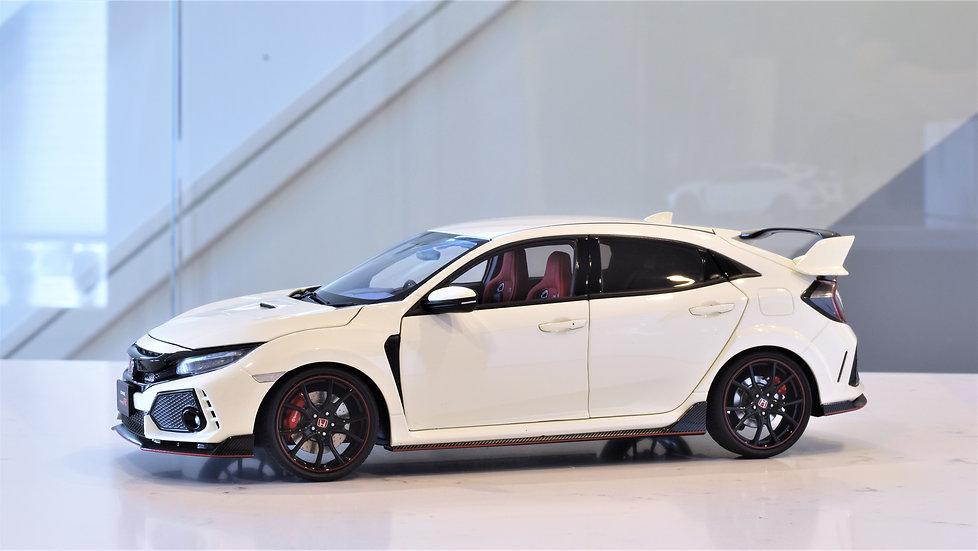 1/18 AUTOart - Honda Civic Type R (FK8) - Championship White