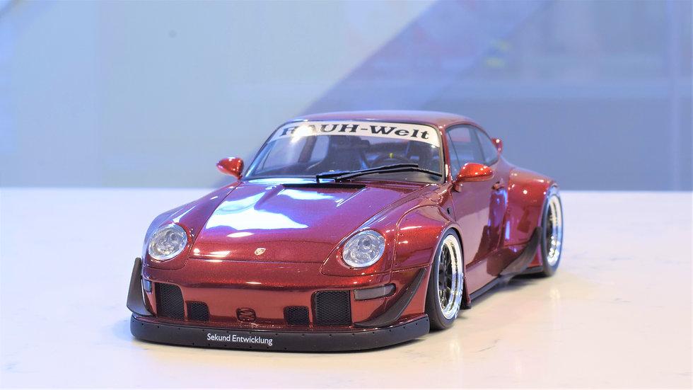 1/18 GT Spirit - RWB RAUH-Welt Begriff Porsche 911 (993) Ducktail - Candy Red
