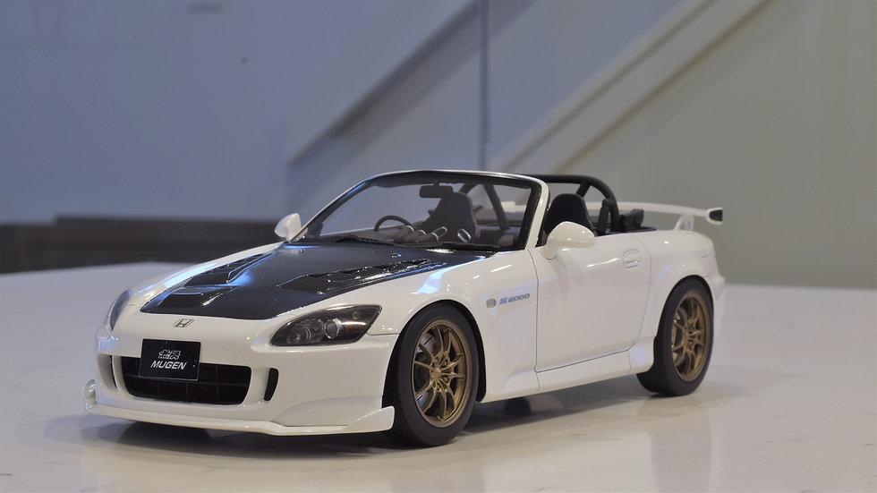 1/18 ONE MODEL - Mugen Honda S2000 - White