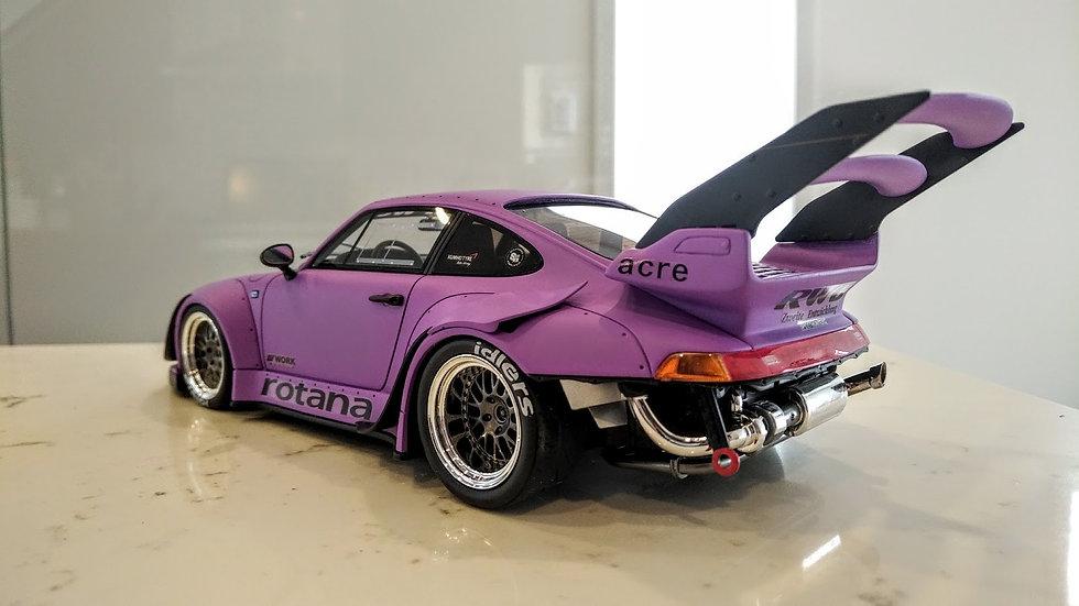 GT Spirit 1/18 RAUH-Welt Begriff 993 ROTANA - Purple