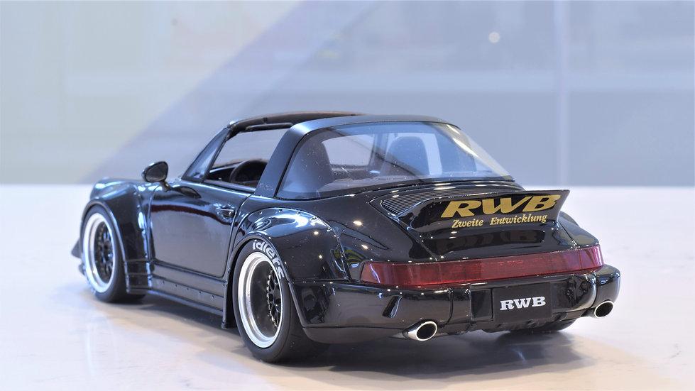 1/18 GT Spirit - RAUH-Welt Begriff (RWB) 964 Targa - Black