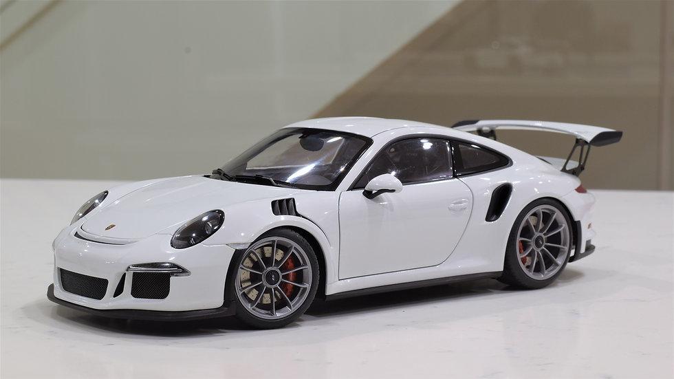 1/18 AUTOart Porsche 911 (991) GT3 RS - White