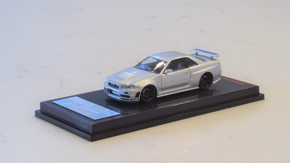 1/64 IGNITION MODEL - Nissan Skyline GT-R NISMO Z-TUNE - SILVER
