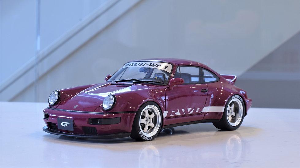 1/18 GT Spirit - RAUH-Welt Begriff (RWB) 964 Ducktail - Burgundy