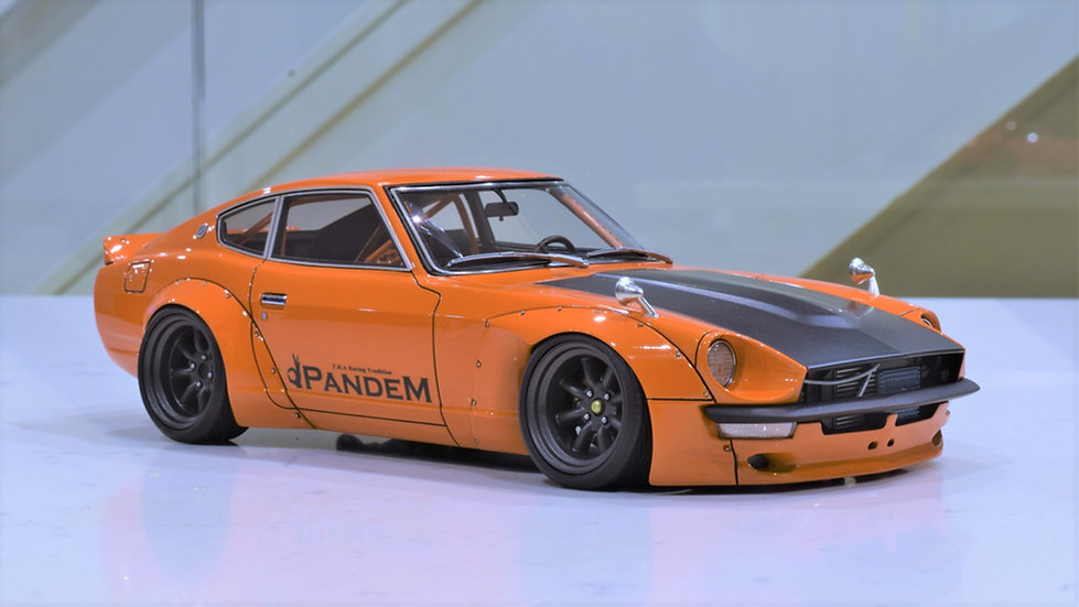 1/18 Ignition Model - Pandem 240Z (S30) - Orange