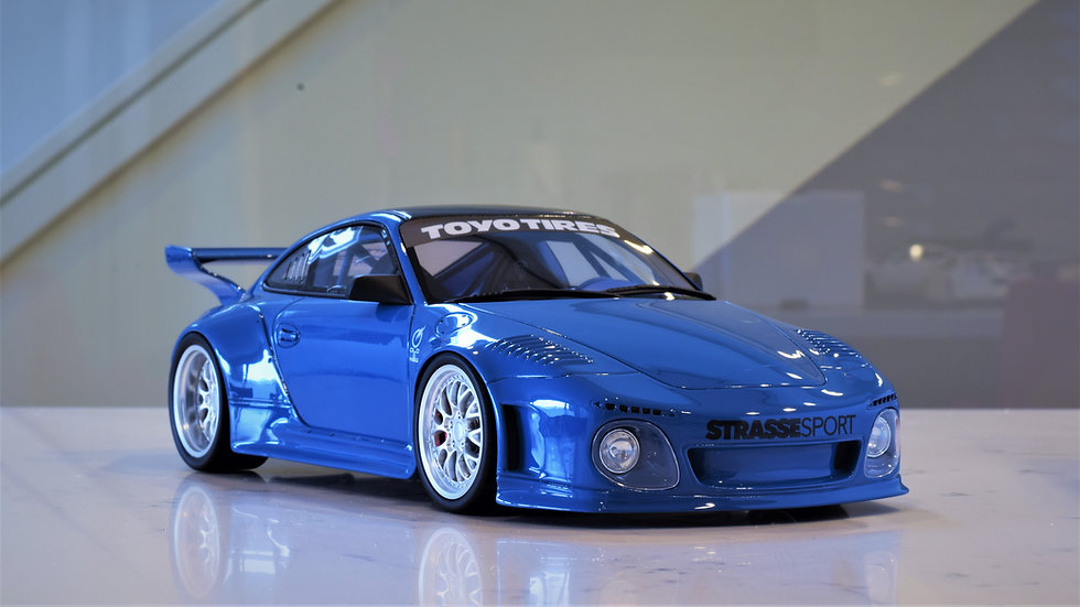 1/18 GT Spirit - Old & New Porsche 997 - BLUE