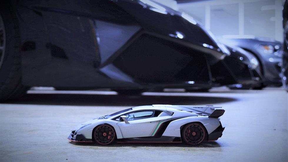 AUTOart 1/18 Lamborghini Veneno - Grey