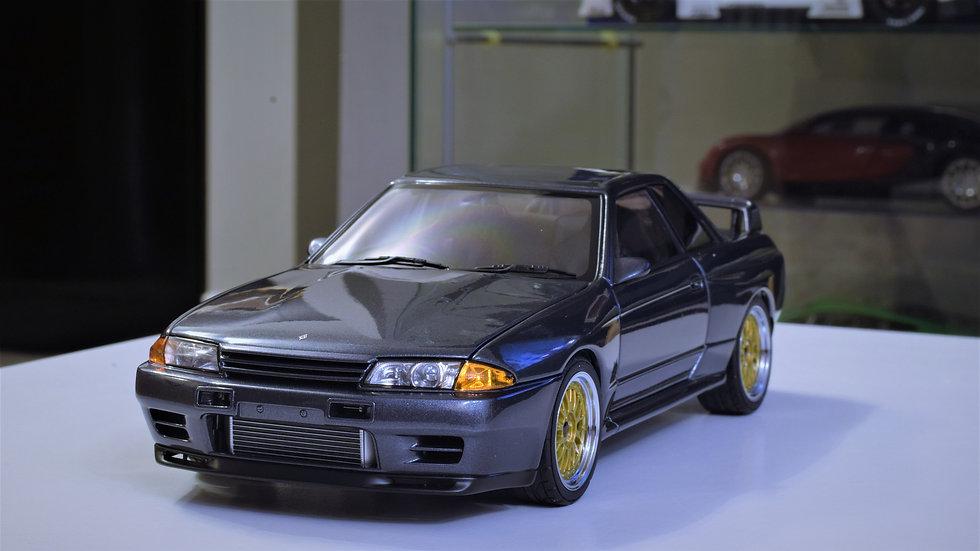 """AUTOart 1/18 Wangan Midnight - Nissan R32 GT-R -""""Reina"""""""