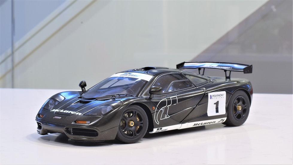 1/18 AUTOart Signature - McLaren F1 Gran Turismo Edition (Stealth)