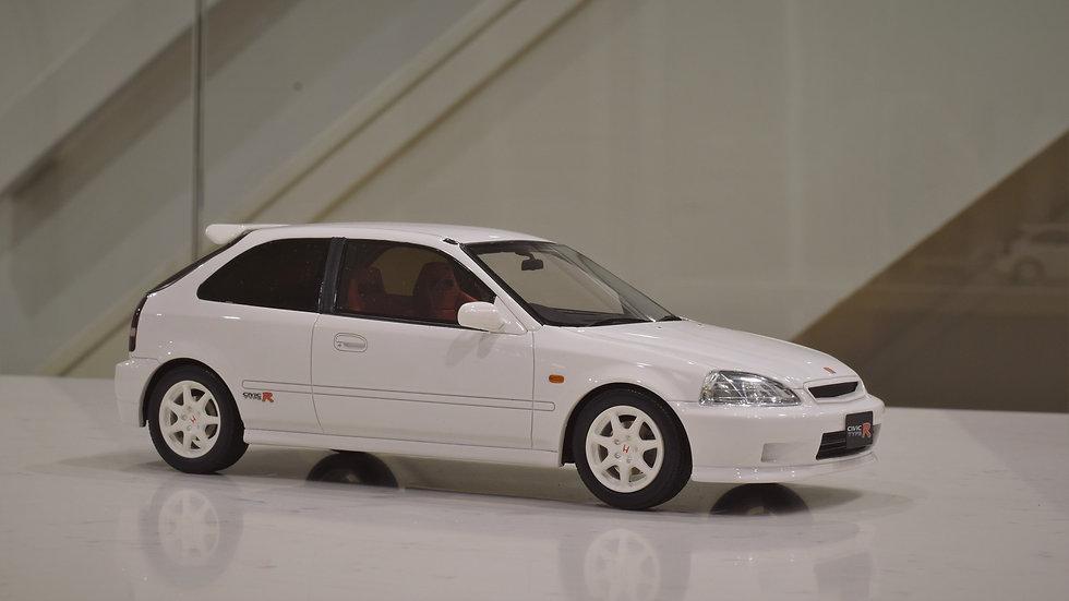 1/18 OTTOmobile Honda Civic Type R EK9 - White