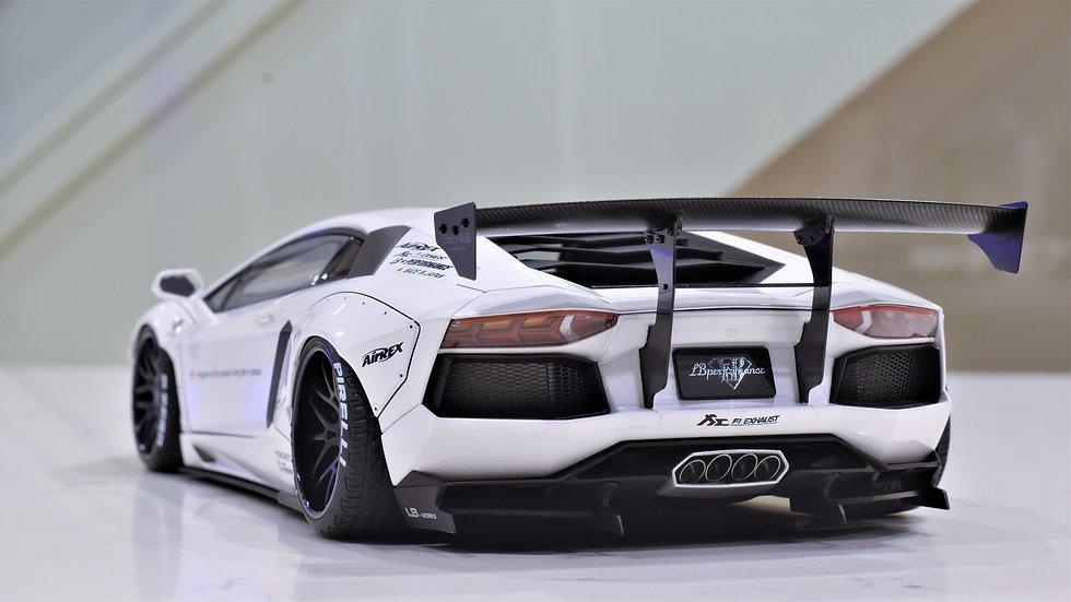 1/18 AUTOart Liberty Walk Lamborghini Aventador LP700-4 - White