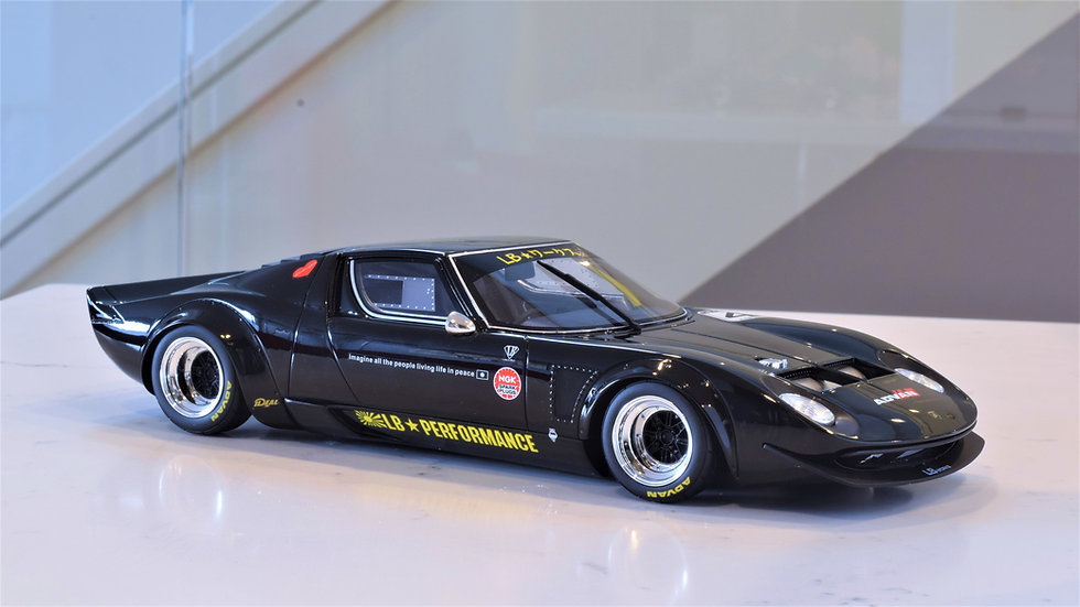 1/18 GT SPIRIT - Liberty Walk LB Works Miura - BLACK