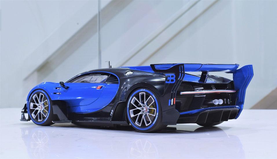 1/18 AUTOart - Bugatti Vision Gran Turismo (RACING BLUE / BLUE CARBON)