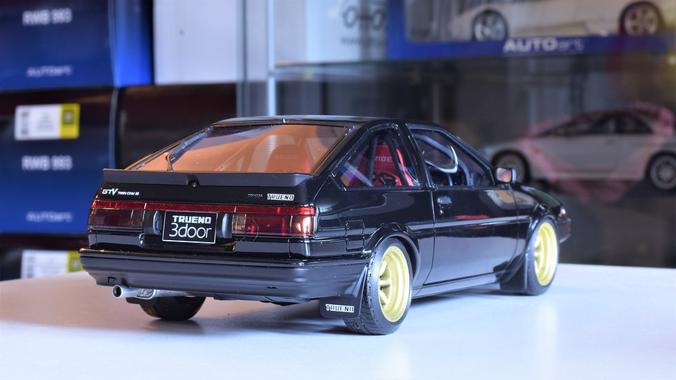 1/18 Ignition Model - AE86 Trueno Unlimited - Tuned - Black