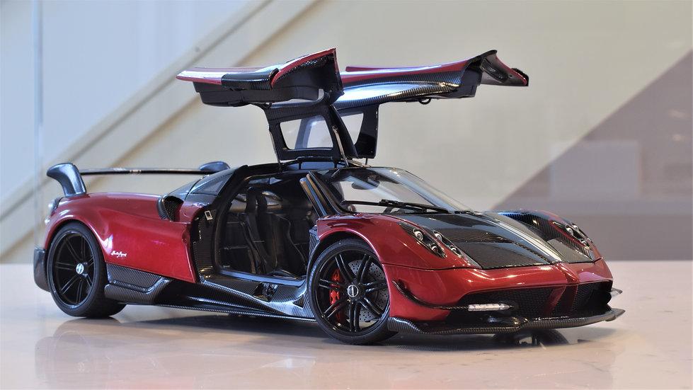 1/18 AUTOart - Pagani Huayra BC - Rosso Dubai / Carbon