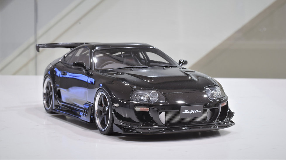 1/18 IGNITION MODEL - RIDOX Toyota Supra - Black