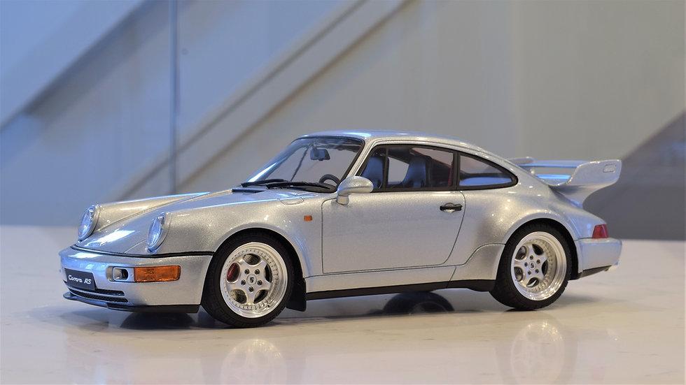 1/18 GT Spirit Porsche 911 Carrera RS 3.8 - Silver
