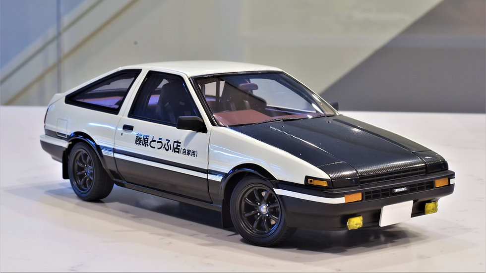 "TOYOTA SPRINTER TRUENO (AE86) ""INITAIL D"" PROJECT D FINAL VERSION"