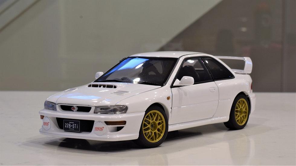 AUTOart - Subaru Impreza STi 22B (White) - Upgraded