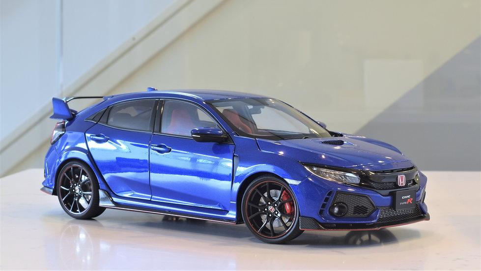 1/18 AUTOart - Honda Civic Type R (FK8) - Brilliant Sporty Blue