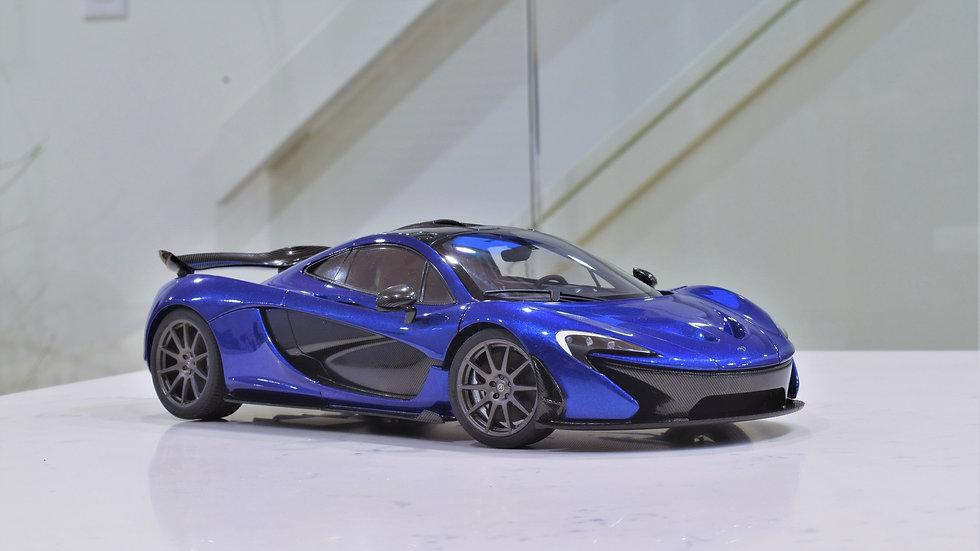 AUTOart 1/18 McLaren P1 - Azure Blue