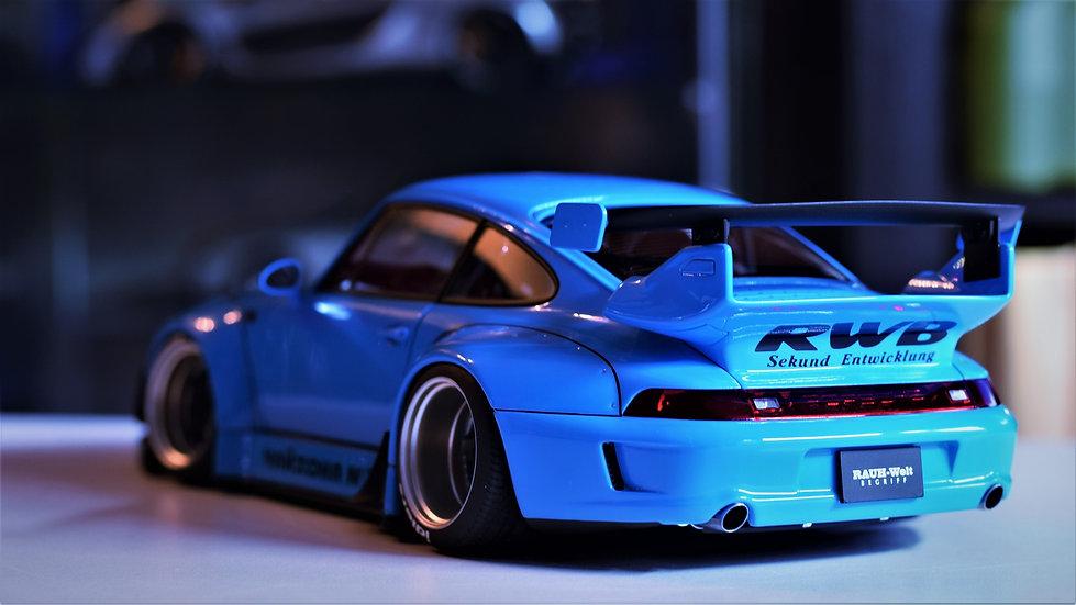 1/18 AUTOart RAUH-welt Begriff (RWB) Porsche 911 (993) - Sky Blue