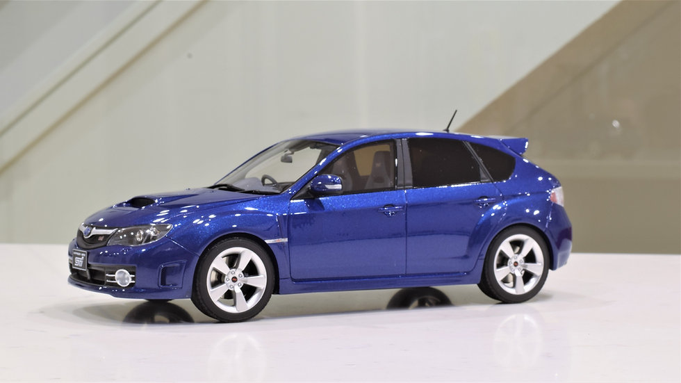 1/18 OTTOmobile Suaru Impreza WRX STI - Blue Mica