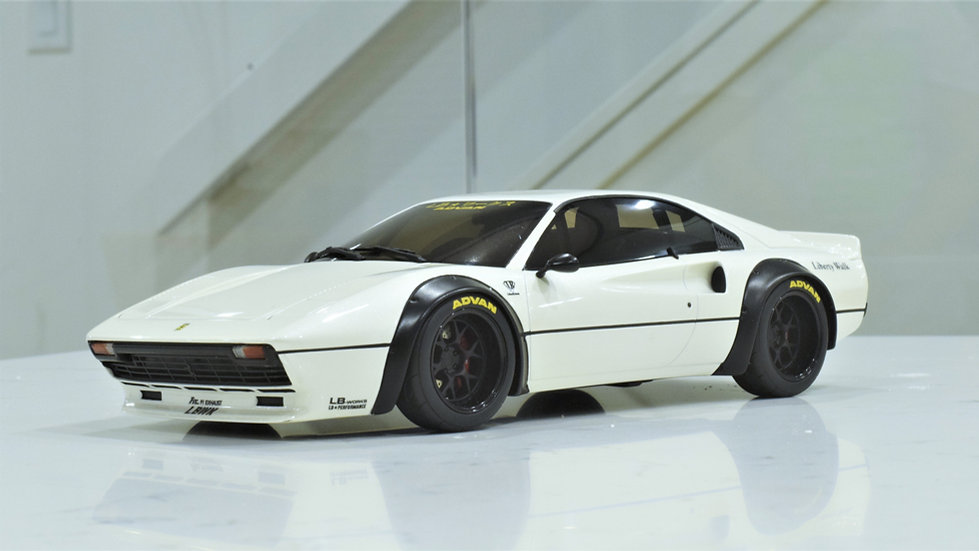1/18 GT SPIRIT - LB WORKS Liberty Walk Ferrari 308 - White (Asia Exclusive)
