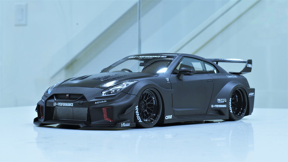 1/18 TOP SPEED - LB-Silhouette WORKS GT NISSAN R35GT-RR