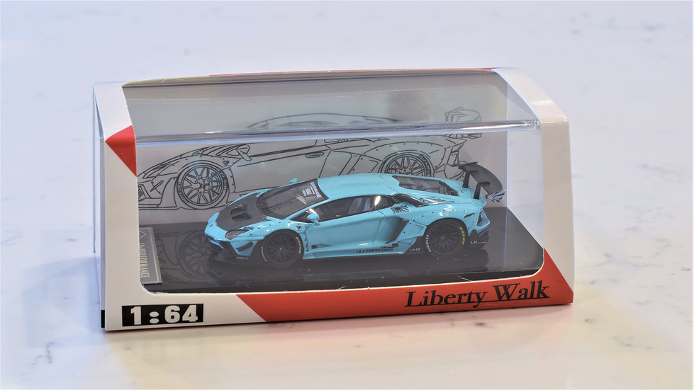 1/64 JEC LB Performance - Lamborghini Aventador LP700-4 (BLUE)