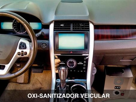 Você sabe o que é Oxi-Sanitização Veicular?