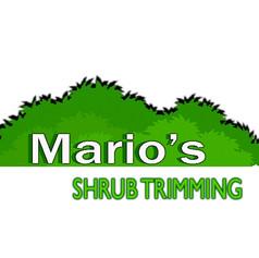 marios logo Shrub triming3.jpg