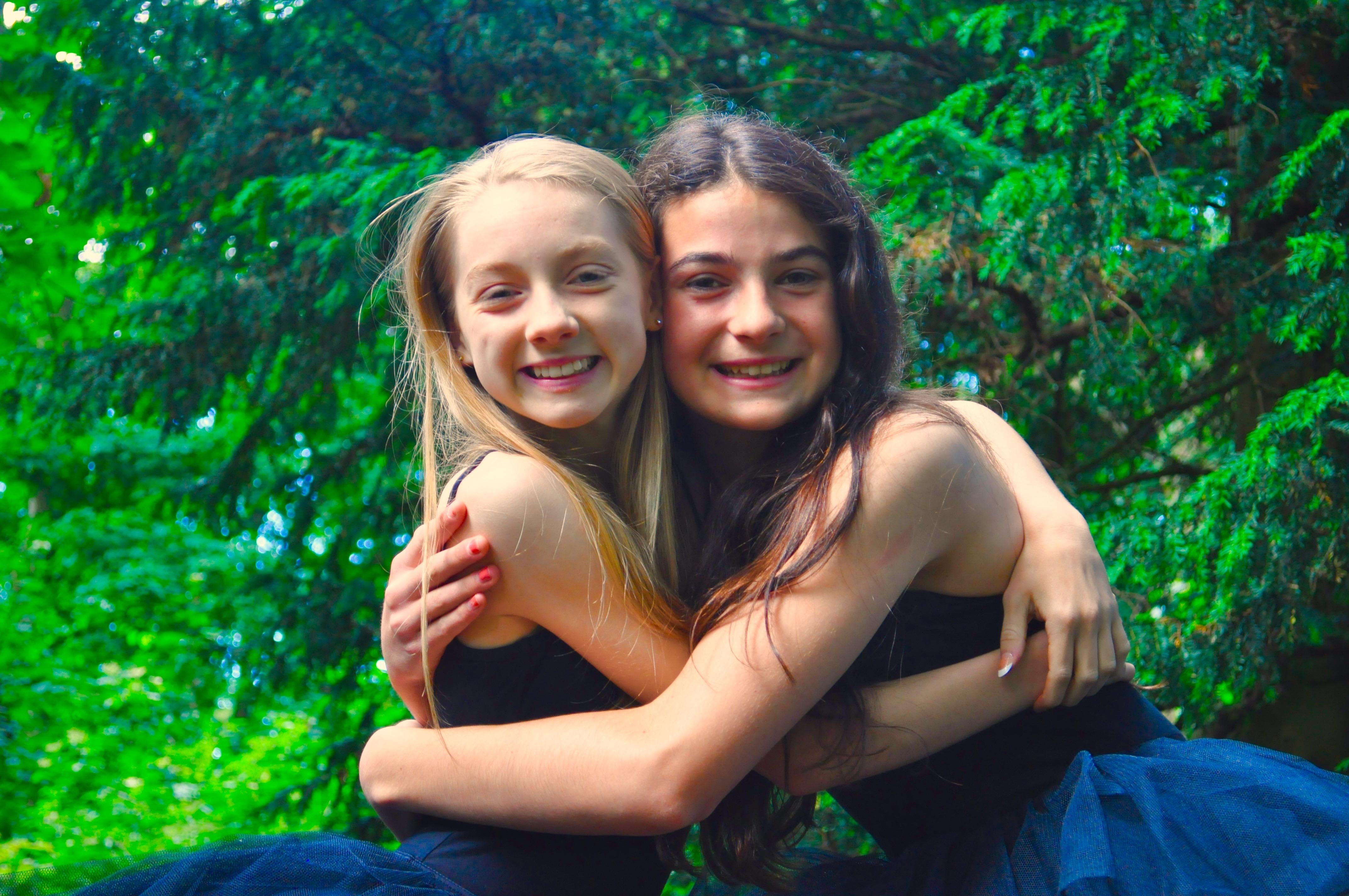 Sarah and Alisha