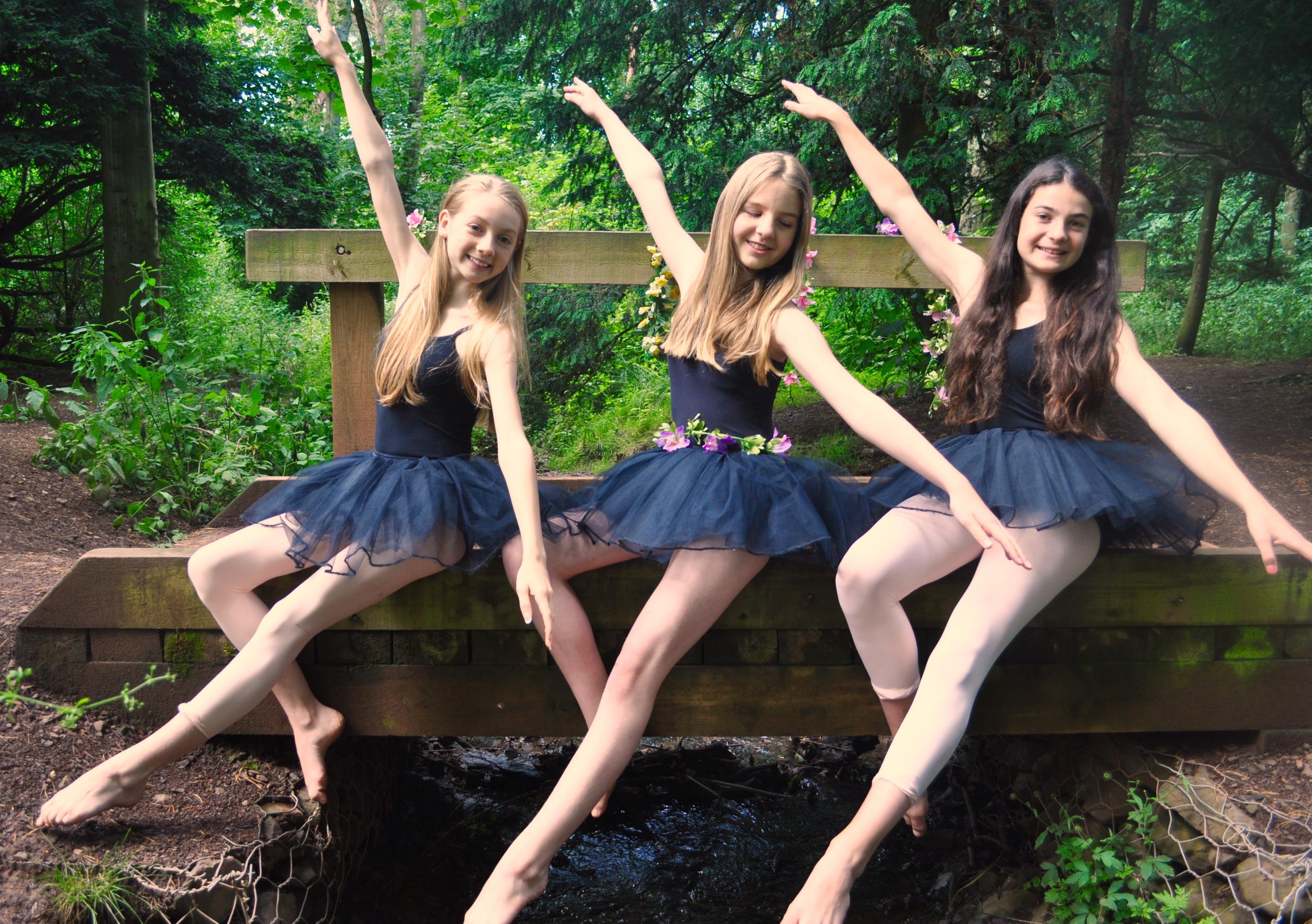 Sarah, Caroline and Alisha