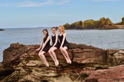 Michaella, Annabel and Claudia