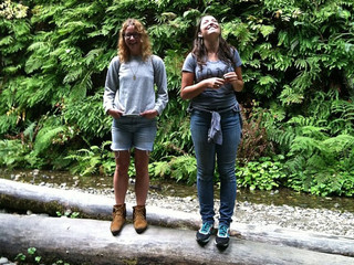 All Smiles in Fern Canyon