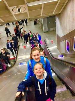 Dunbar Dancers take over the Tube...