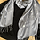 Thumbnail: STAR SIGN CONSTELLATION PRINT PASHMINA ON EDGING