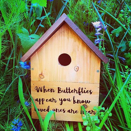 BUTTERFLY/ BIRD HOUSE