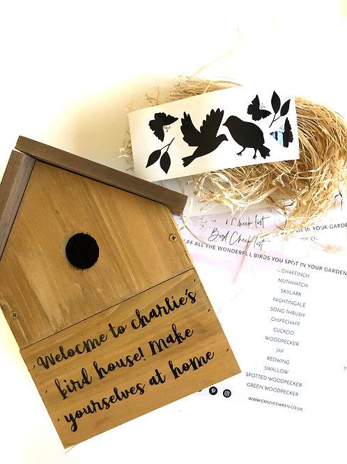 THE LOCK DOWN BIRD BOX PROJECT