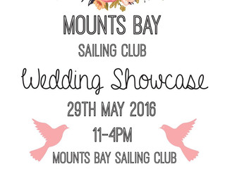 Mounts Bay Sailing Club Wedding Showcase 2016