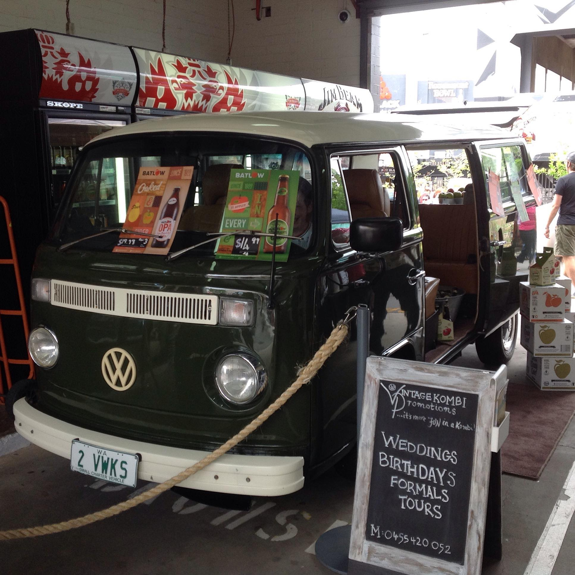 Promotion | Vintage Kombi | Perth