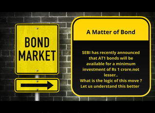 A Matter of Bond