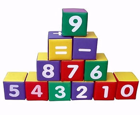 Number and figure block set