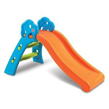 Childrens plastic slide