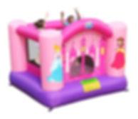 Girls Princess theme jumping castle