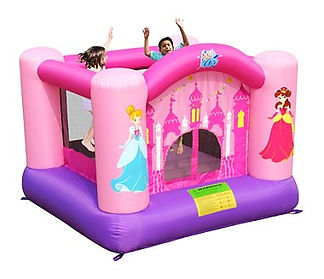 Girls Princess theme jumping castle