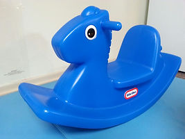 Plastic Rocking Horse