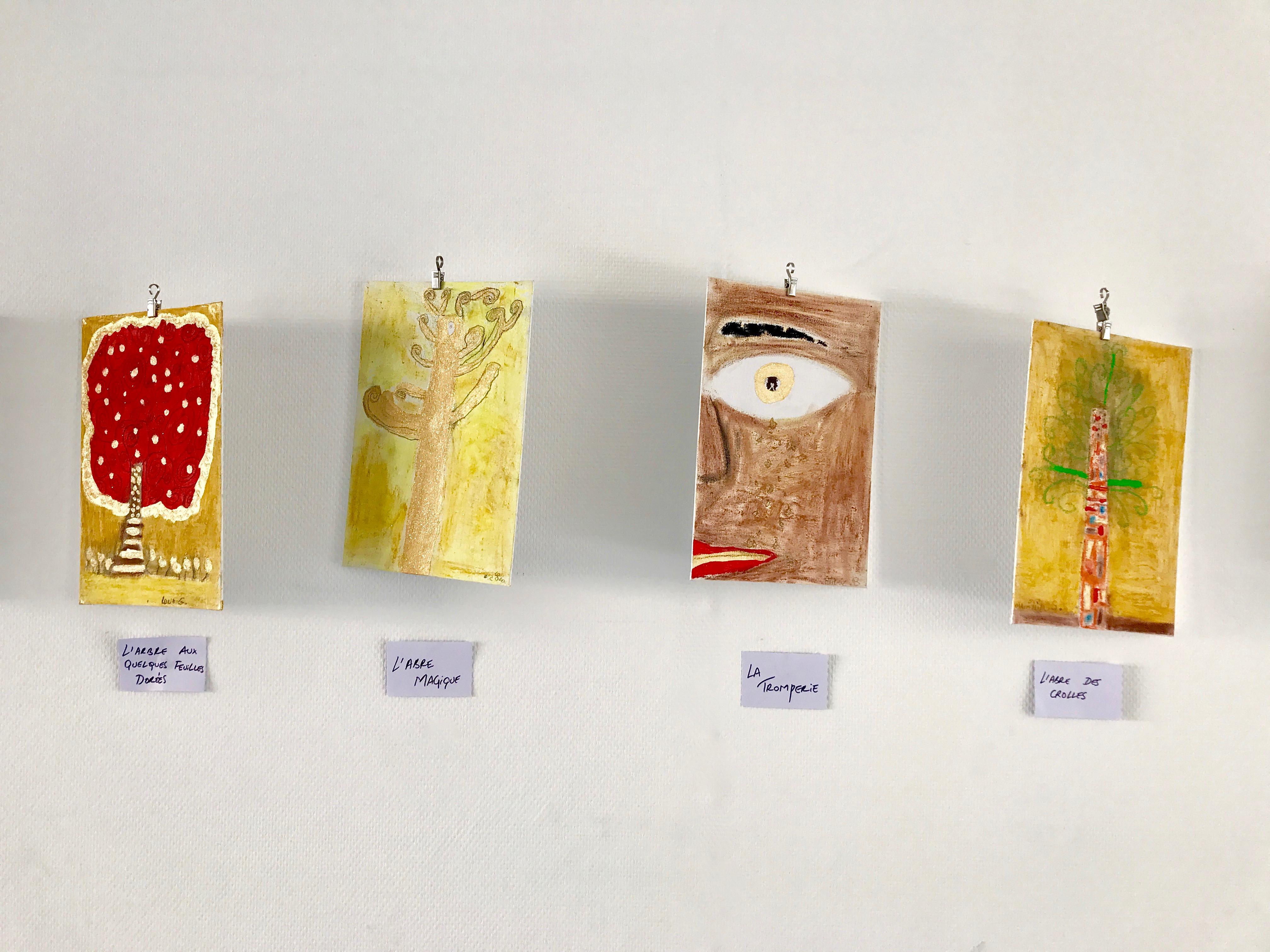 expo de nos oeuvres Klimt