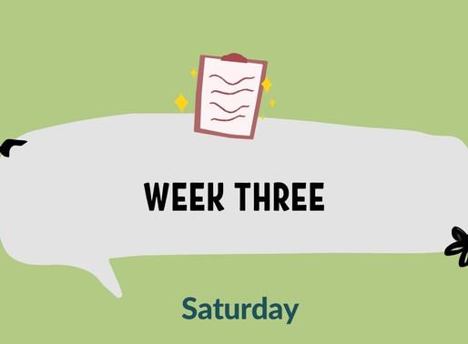 #HealthyKidsfor£20 - Week Three (Saturday Recipes)
